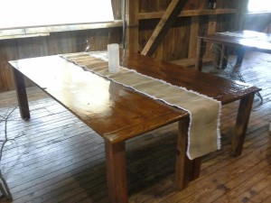 Country Style Table